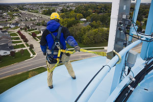 Safety Harness window cleaning