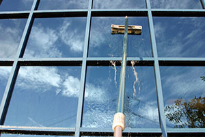 Water fed window cleaning poles